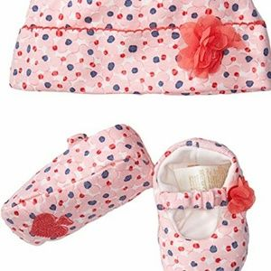 Kate Spade Infant Hat & Shoe set